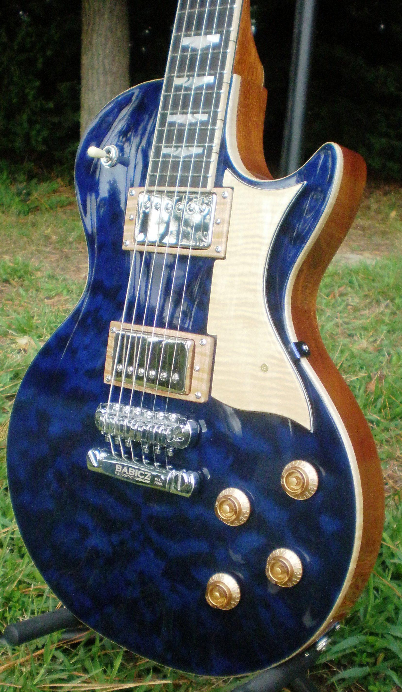 Hawkins Les Paul Style Guitar Front