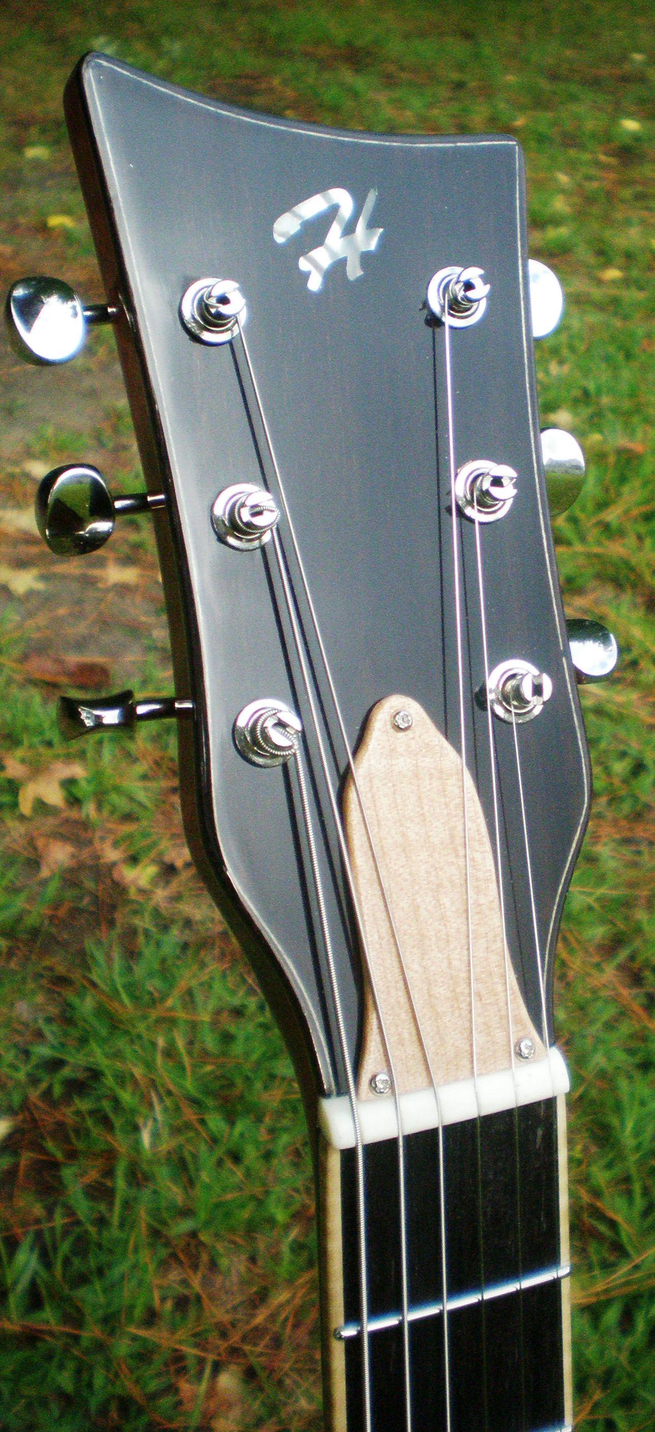 Hawkins Les Paul Style Guitar Headstock