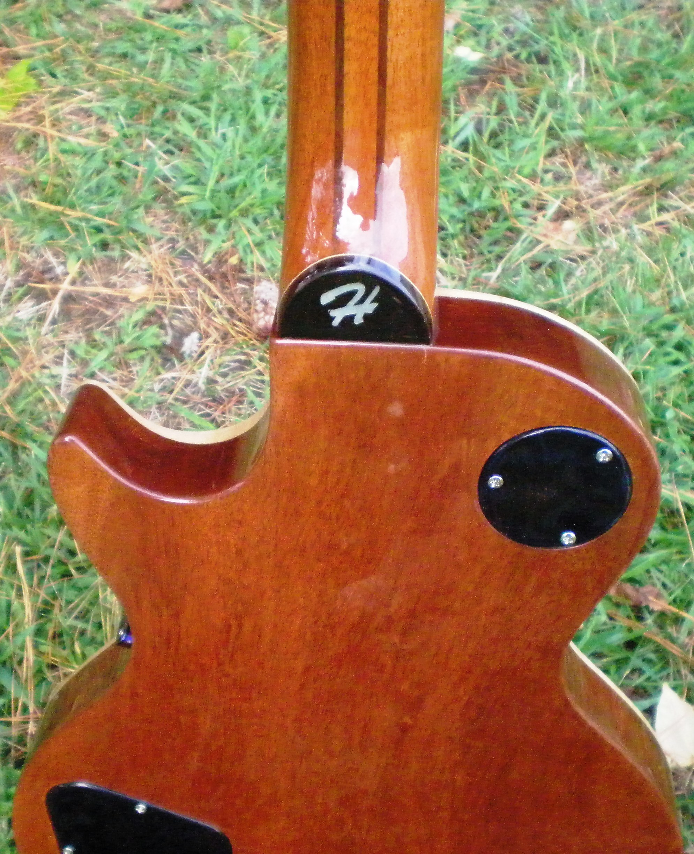 Hawkins Les Paul Style Guitar Back
