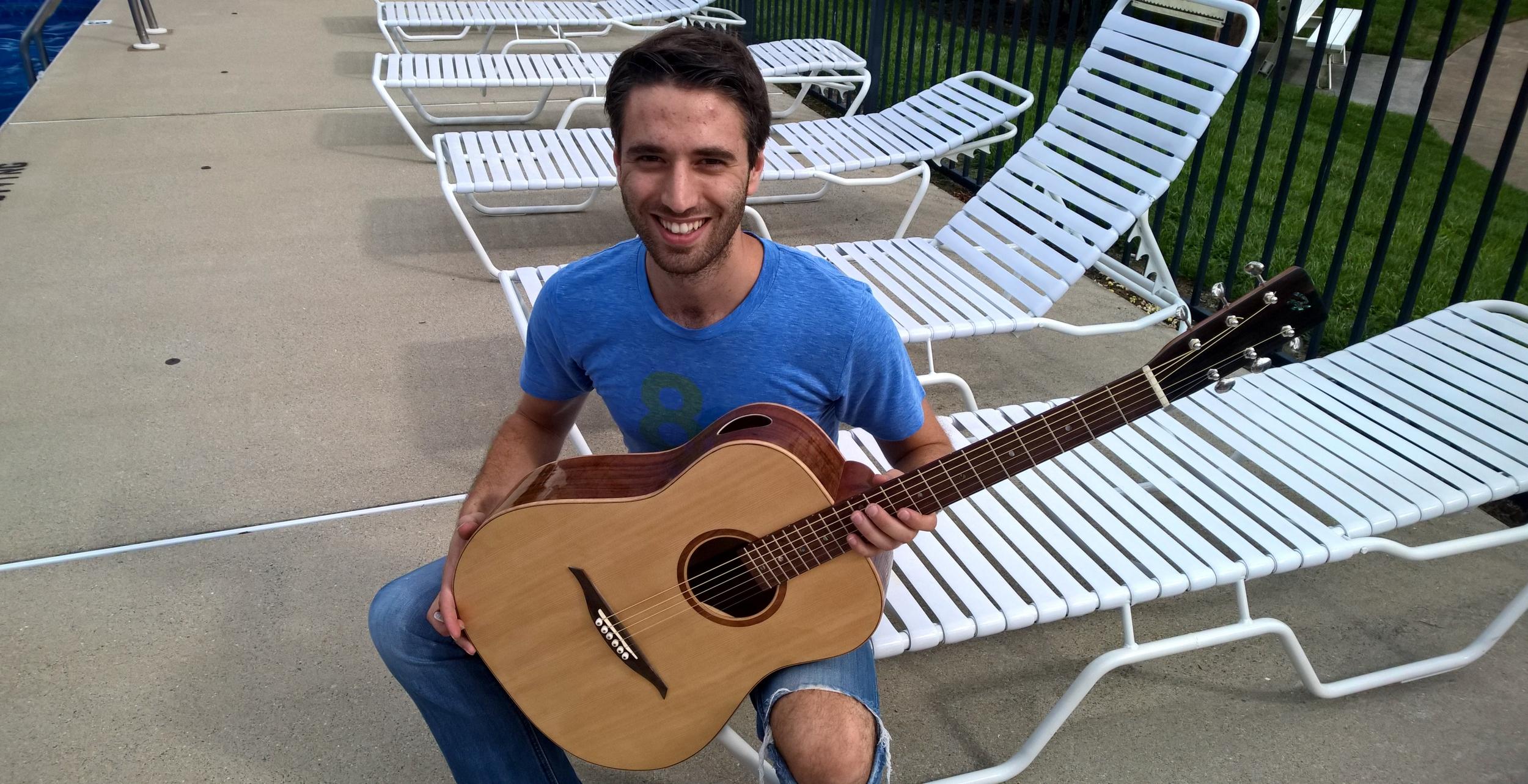 Hawkins Guitar Luthier Student