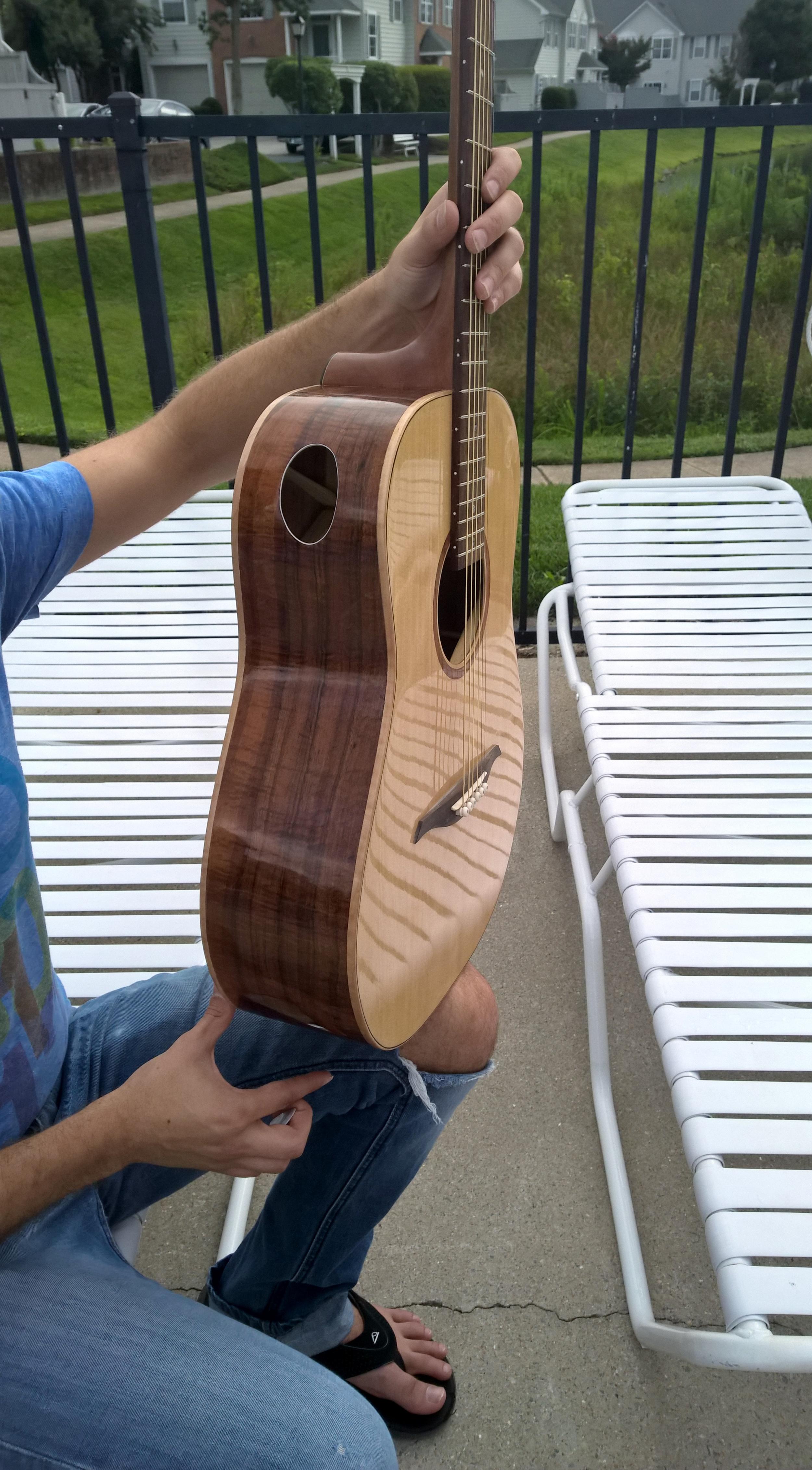 Luthier Student Hawkins Guitar