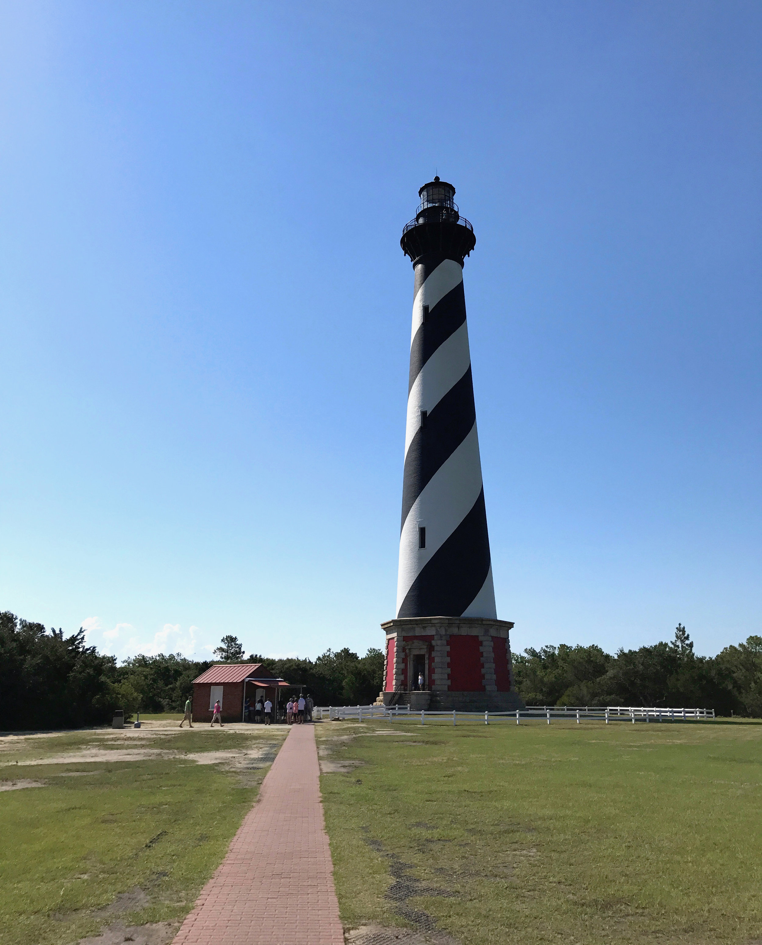 The Cape Hatteras Lighthouse – the tallest brick lighthouse in the U.S.