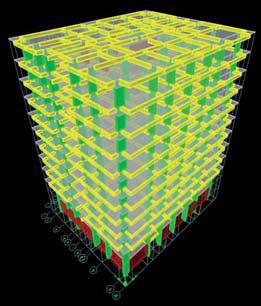 Binanın 3-Boyutlu Bilgisayar Modeli