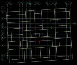 Zümrüt Apartmanının Bilgisayar Modelinde Planda Dönerek Çekme Durumu