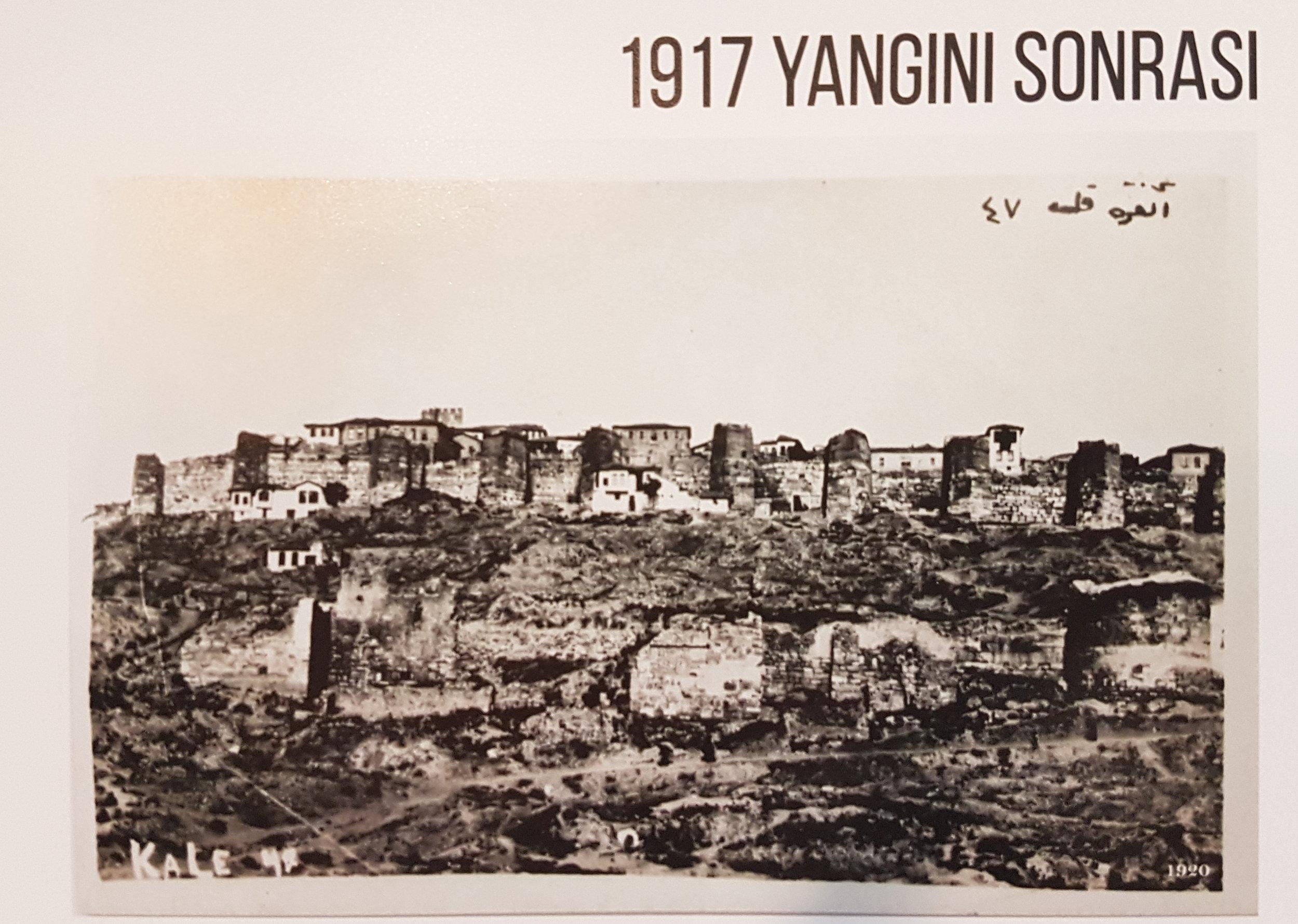 1920'de Ankara Kalesi'nin Görünümü - Kaynak: Baykan Günay Arşivi