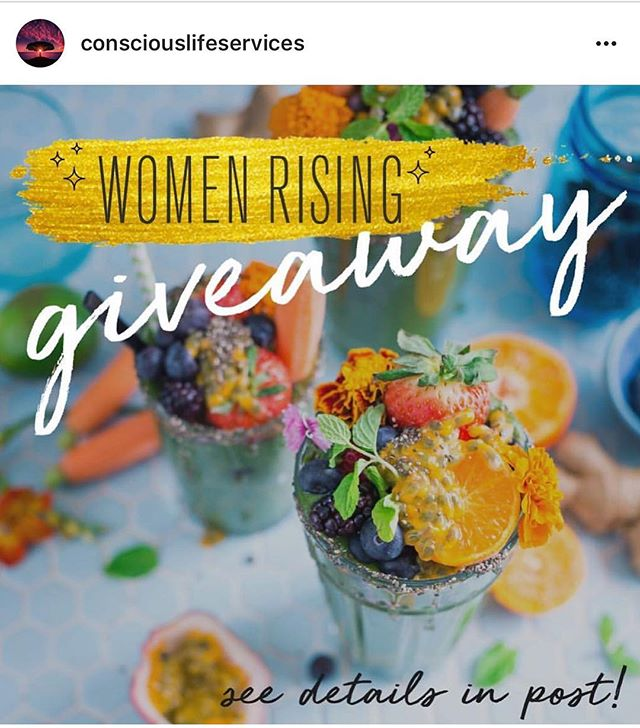 Fun giveaway contest by two beautiful ladies @superfitbyandrea and @danielle.kort.  If you are into health and manifestation this is totally for you!! Check out the contest prizes on their page, they are awesome: @consciouslifeservices  #consciouslifegiveaway #healthylifestyle