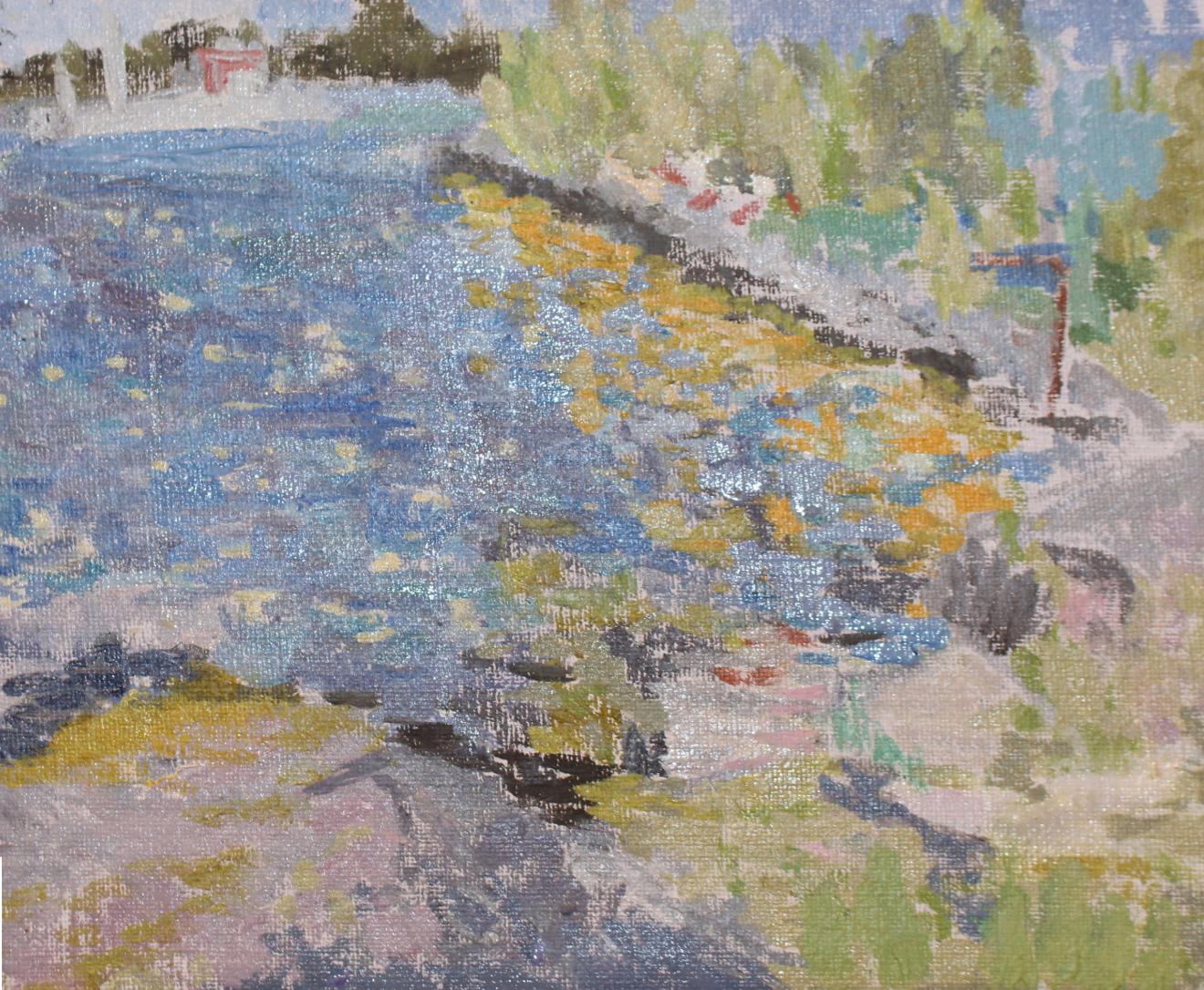 Reflection, Oil on linen, 22x27 cm.jpg