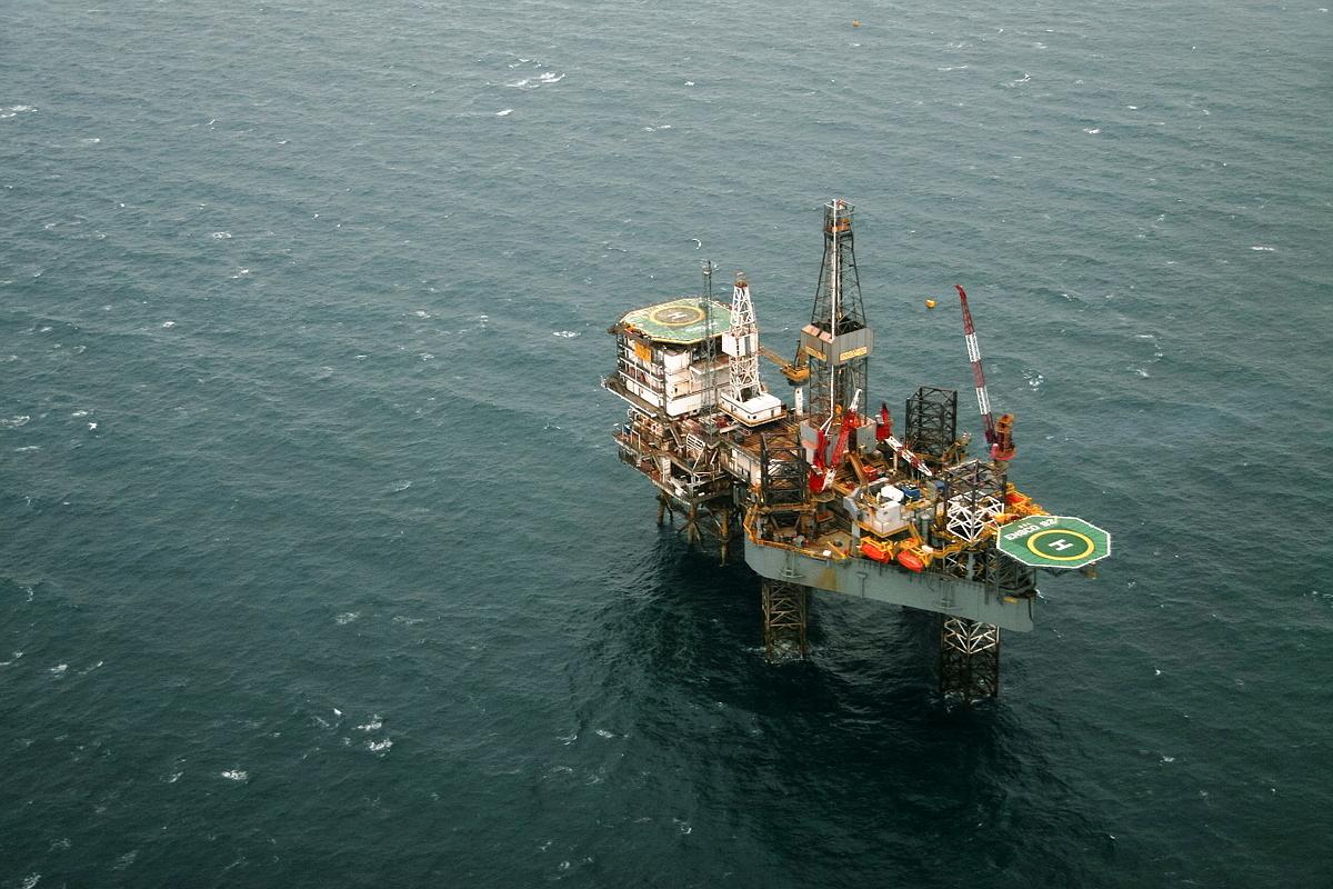 Oil platform, North Sea