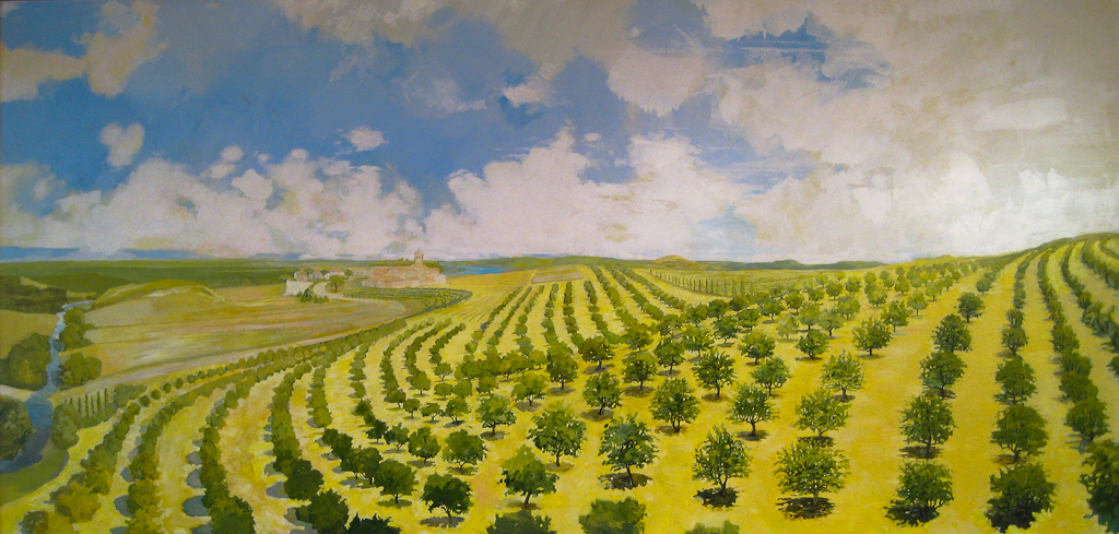 Italian Orchard , 2002, by Jim Lytle