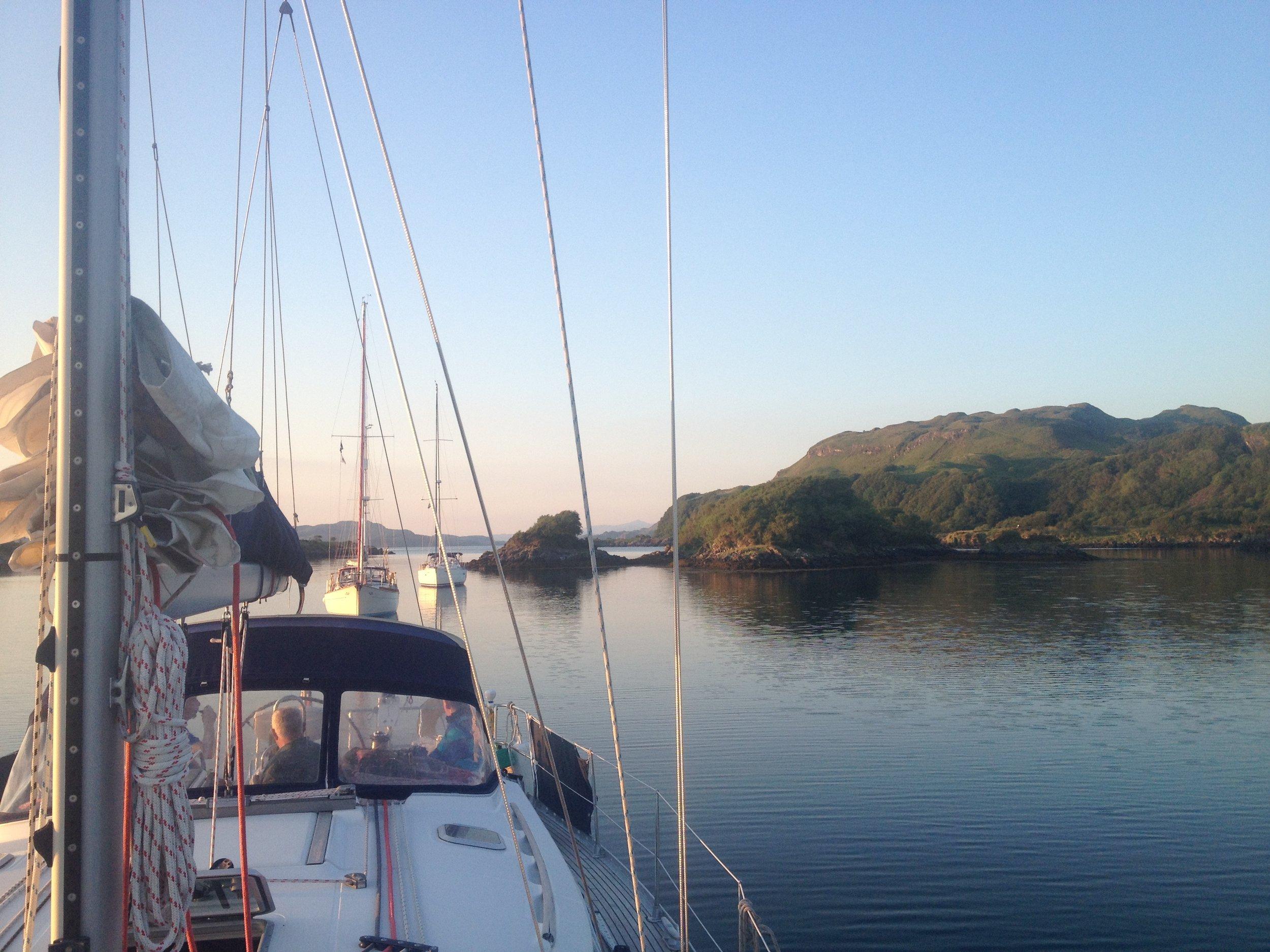 at anchor seil island