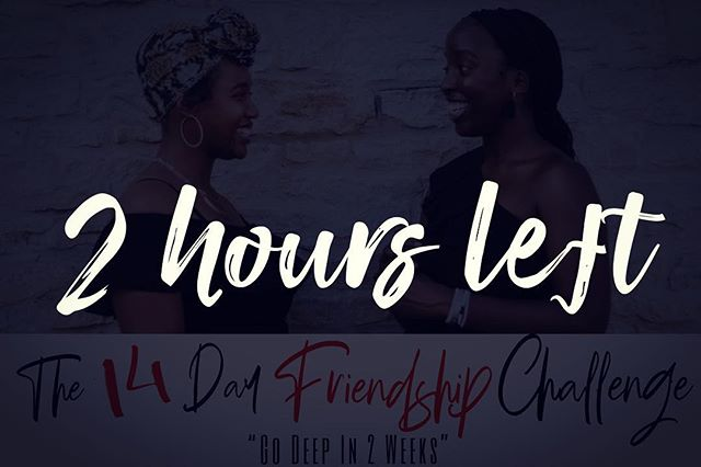 What are you waiting for? #TheFriendshipChallenge www.heartconvos.com