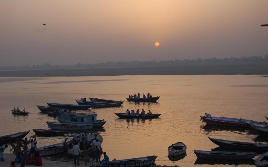 Ganges Boat Ride, Varanasi, India