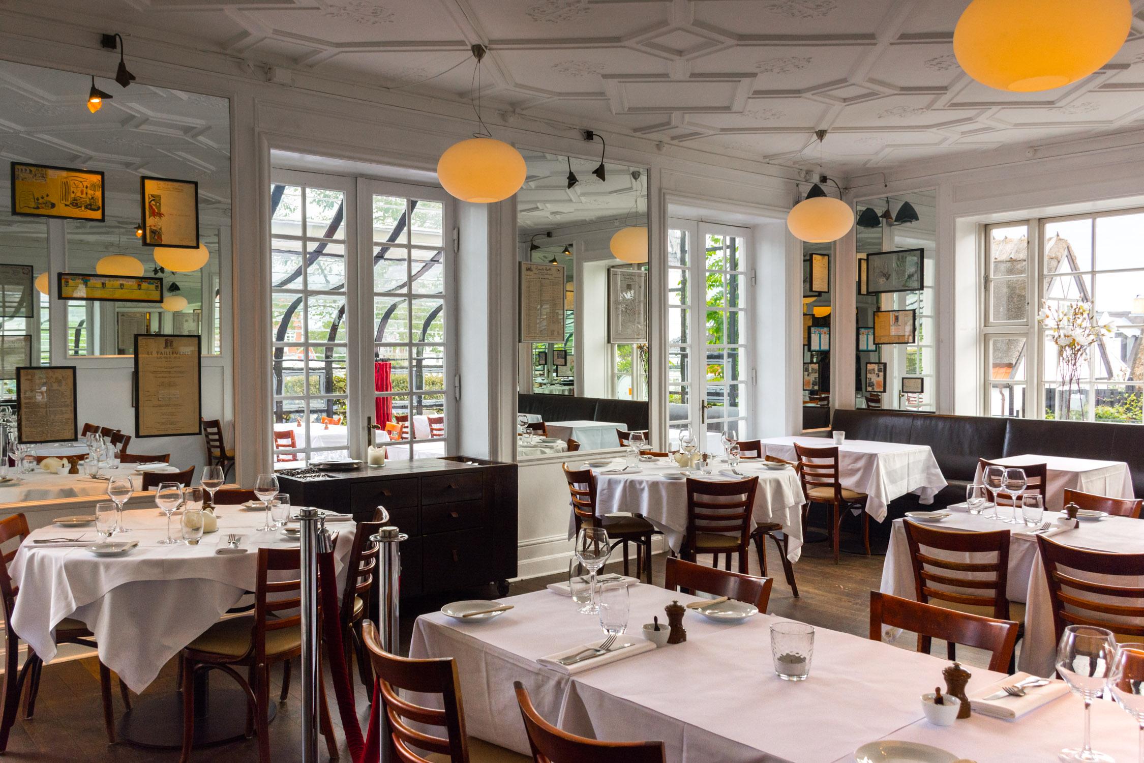 The restaurant at Skovshoved Hotel