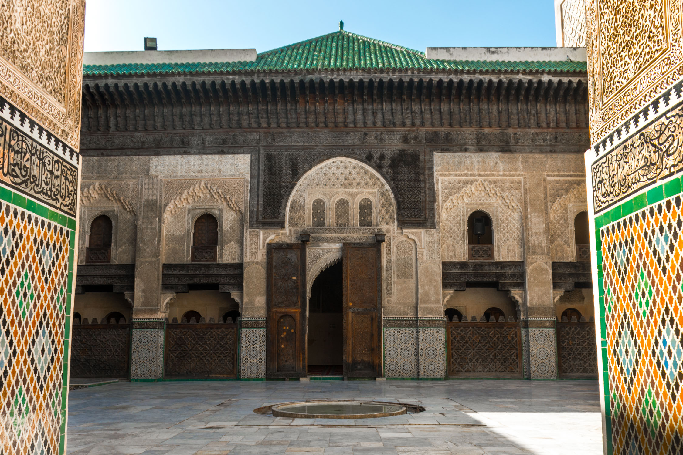 One of the mosques we visited with our guide