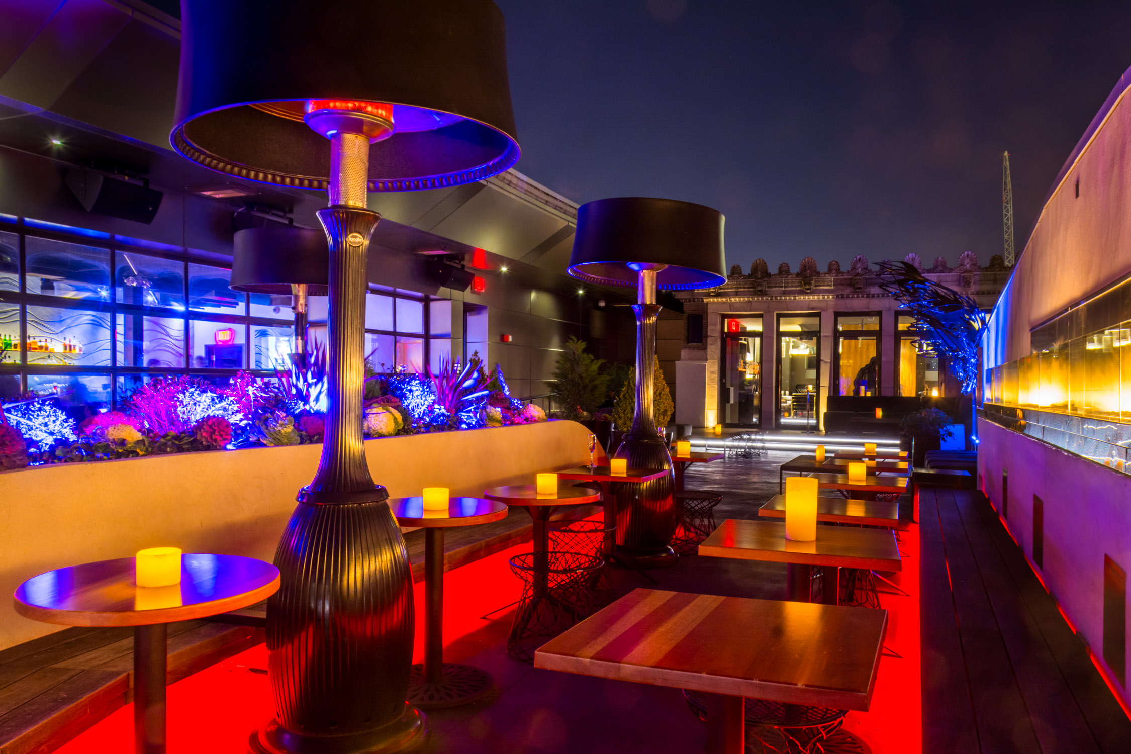 At the Stratus Bar - Hotel Monaco's rooftop lounge