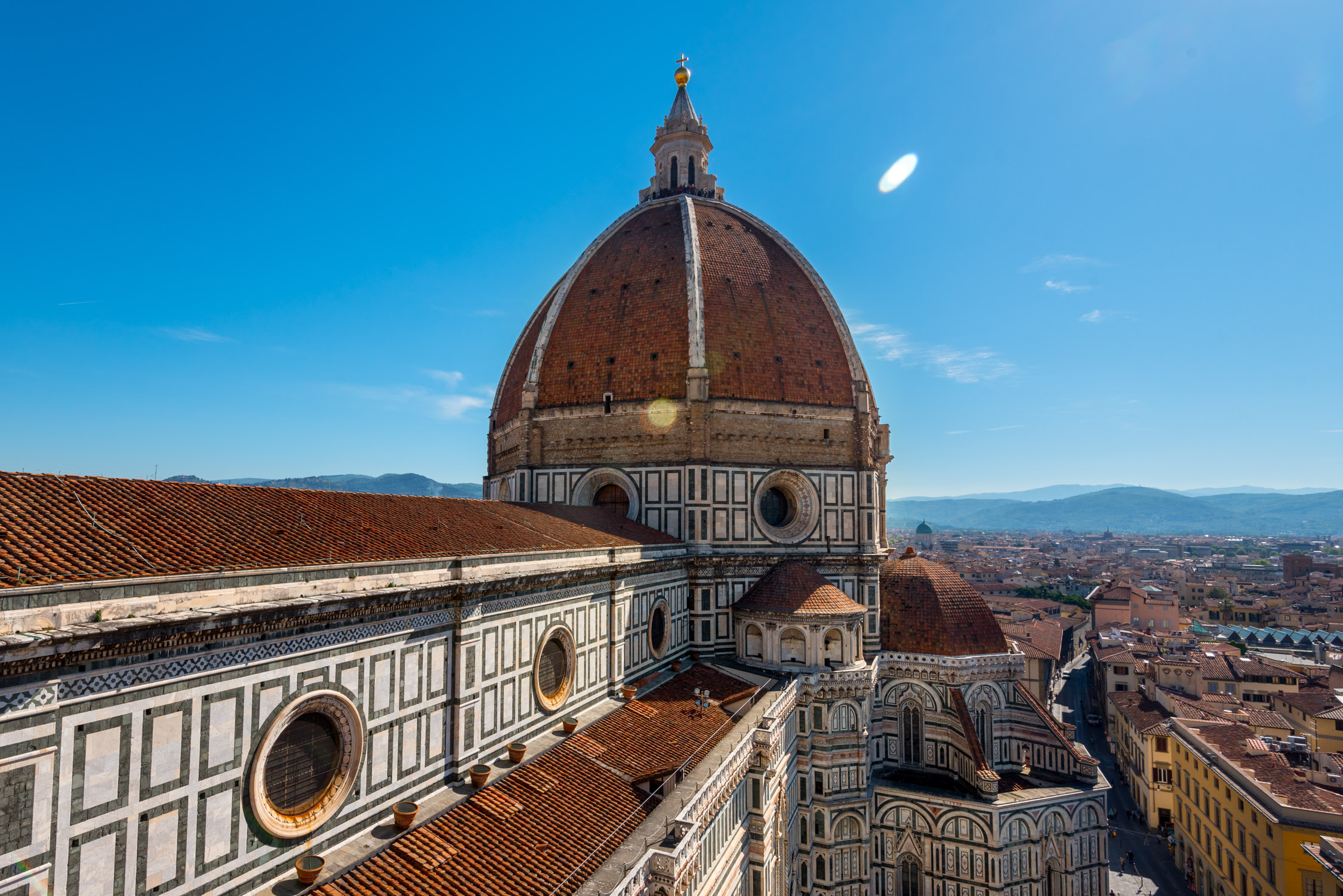 Our views from the top of the Basilica of Santa Maria Novella