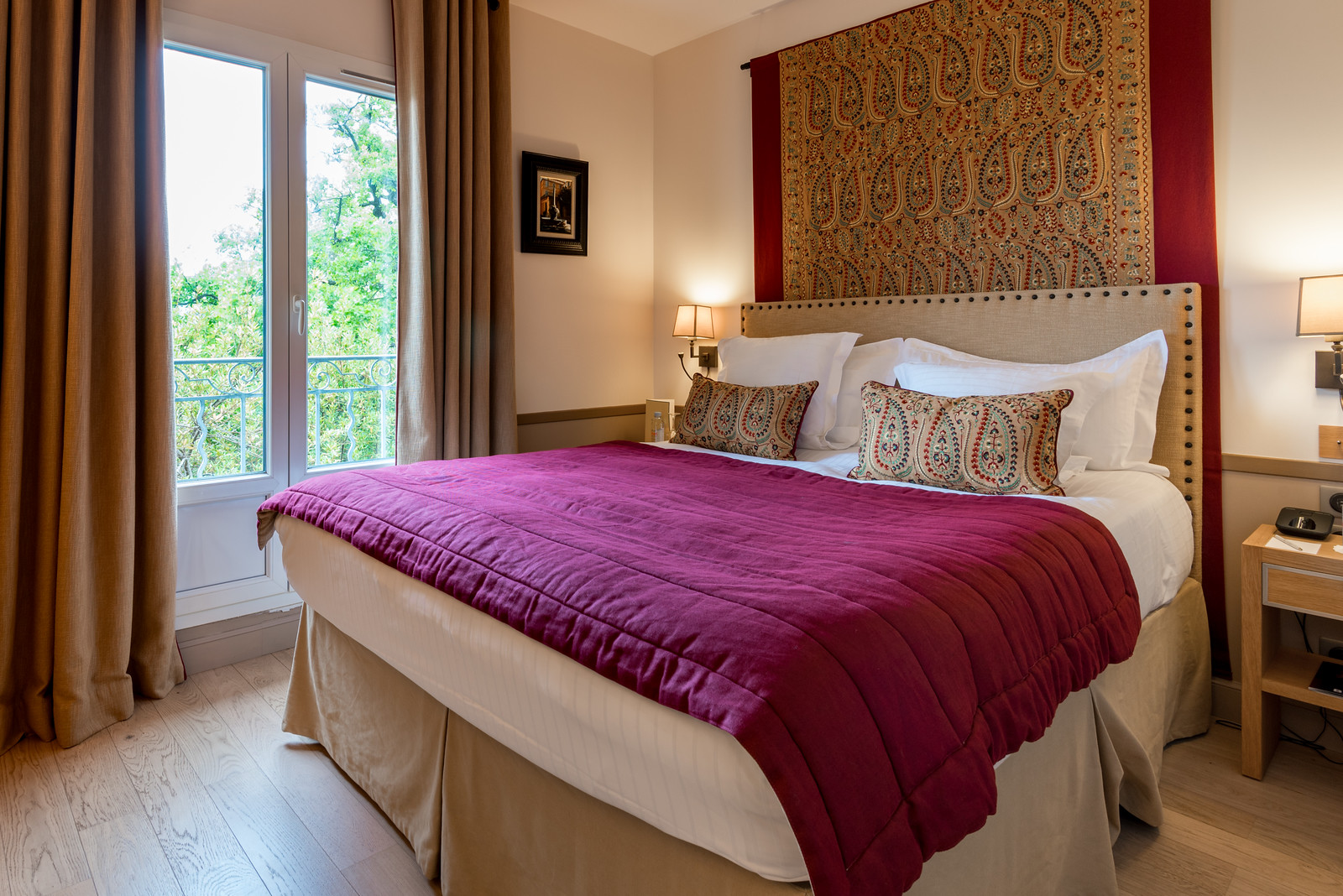 Our bedroom at Hotel Le Pigonnet   Aix en Provence, France