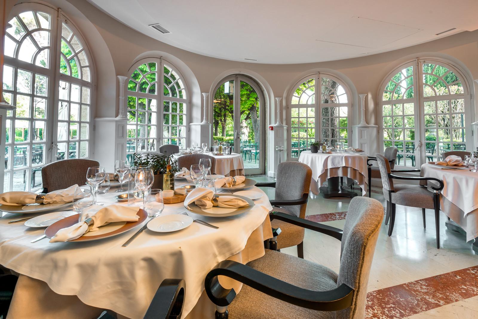 The restaurant at Hotel Le Pigonnet   Aix en Provence, France