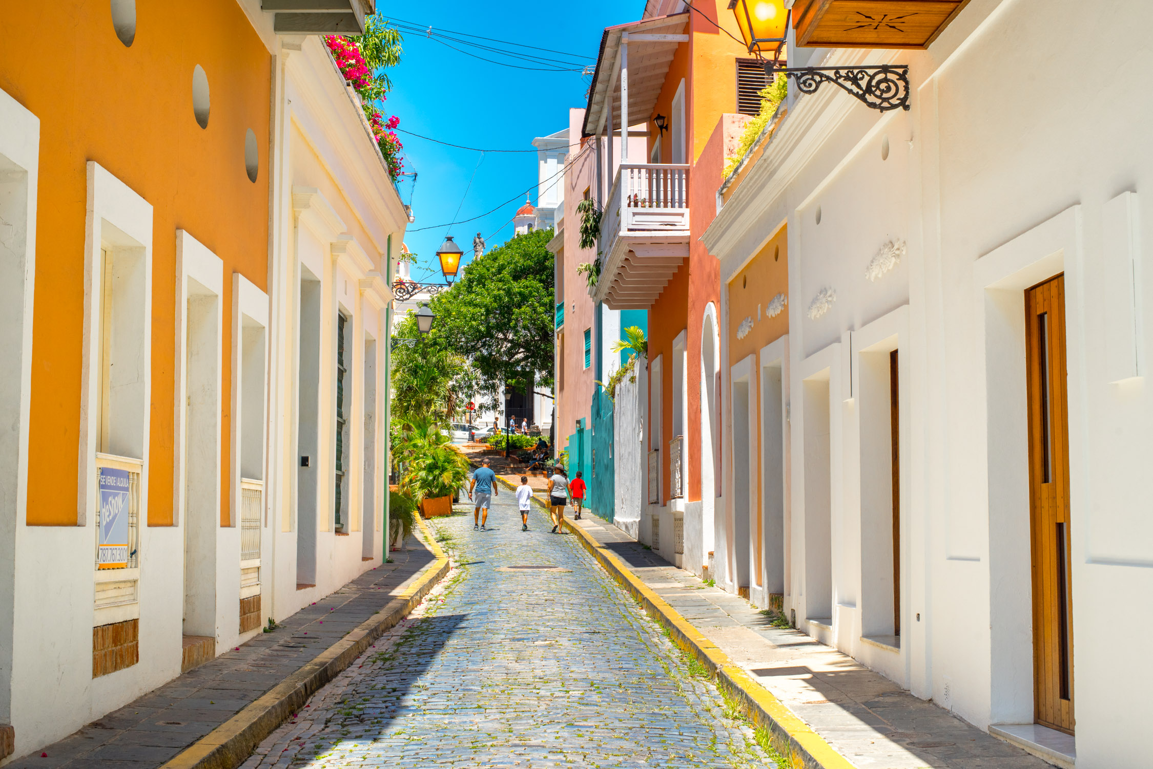 The streets of Old San Juan, Puerto Rico