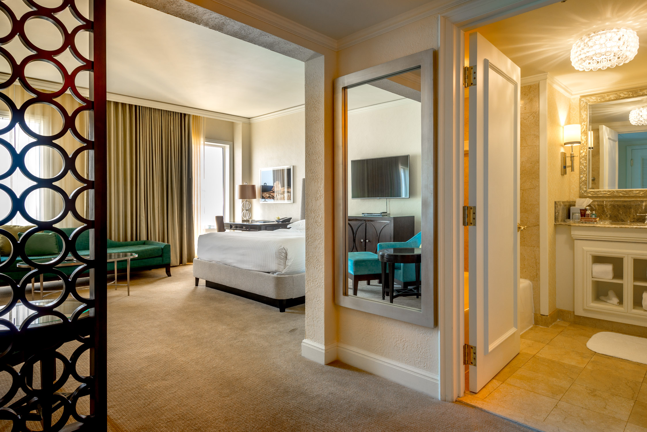 Our suite at The Ritz-Carlton, San Juan