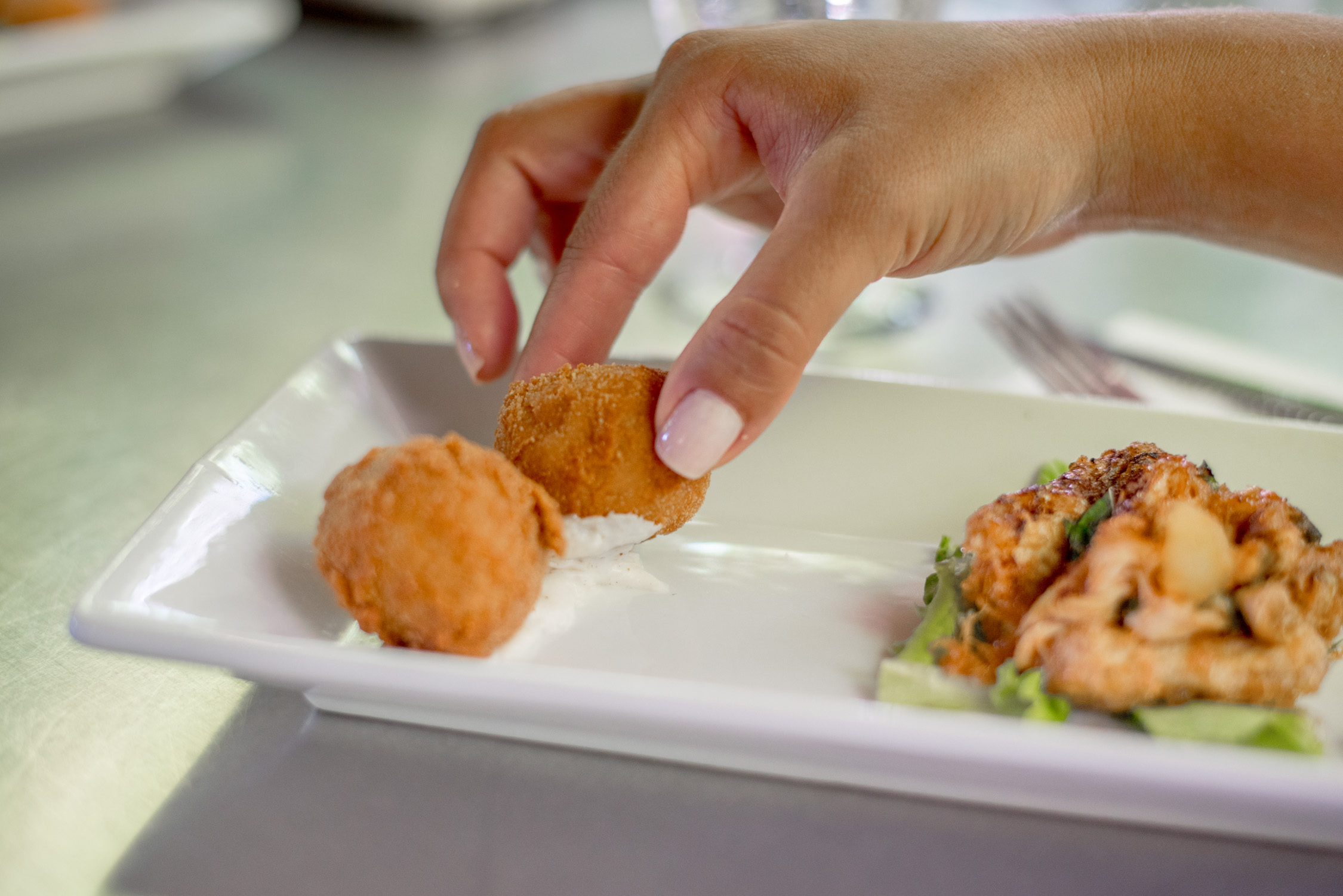 Croquettes are in must while in  San Juan, Puerto Rico