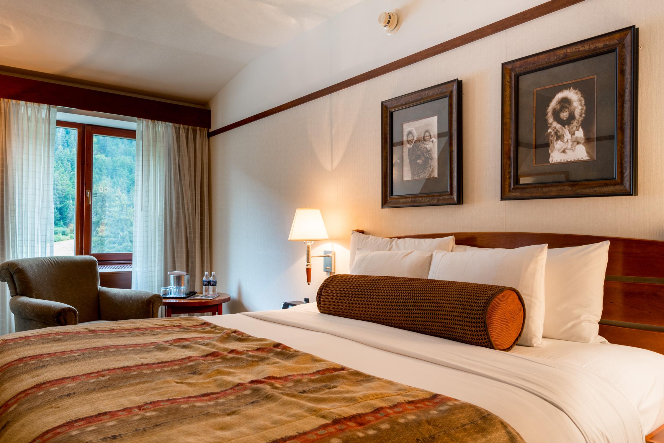 Our suite at  Alyeska Resort in Alaska