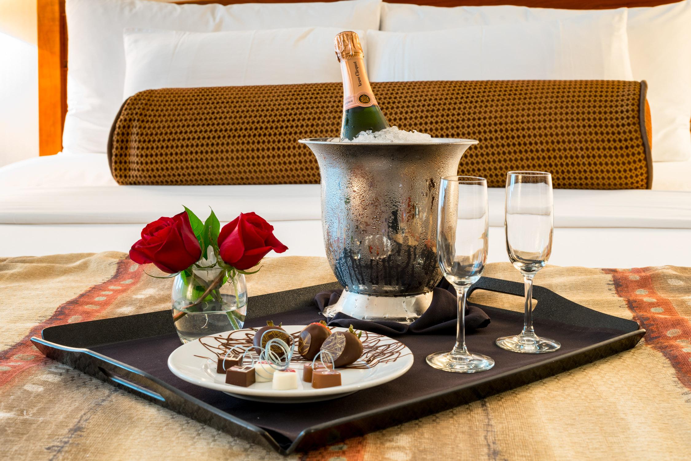 Ohhh lala...a bit of romance at  Alyeska Resort in Alaska