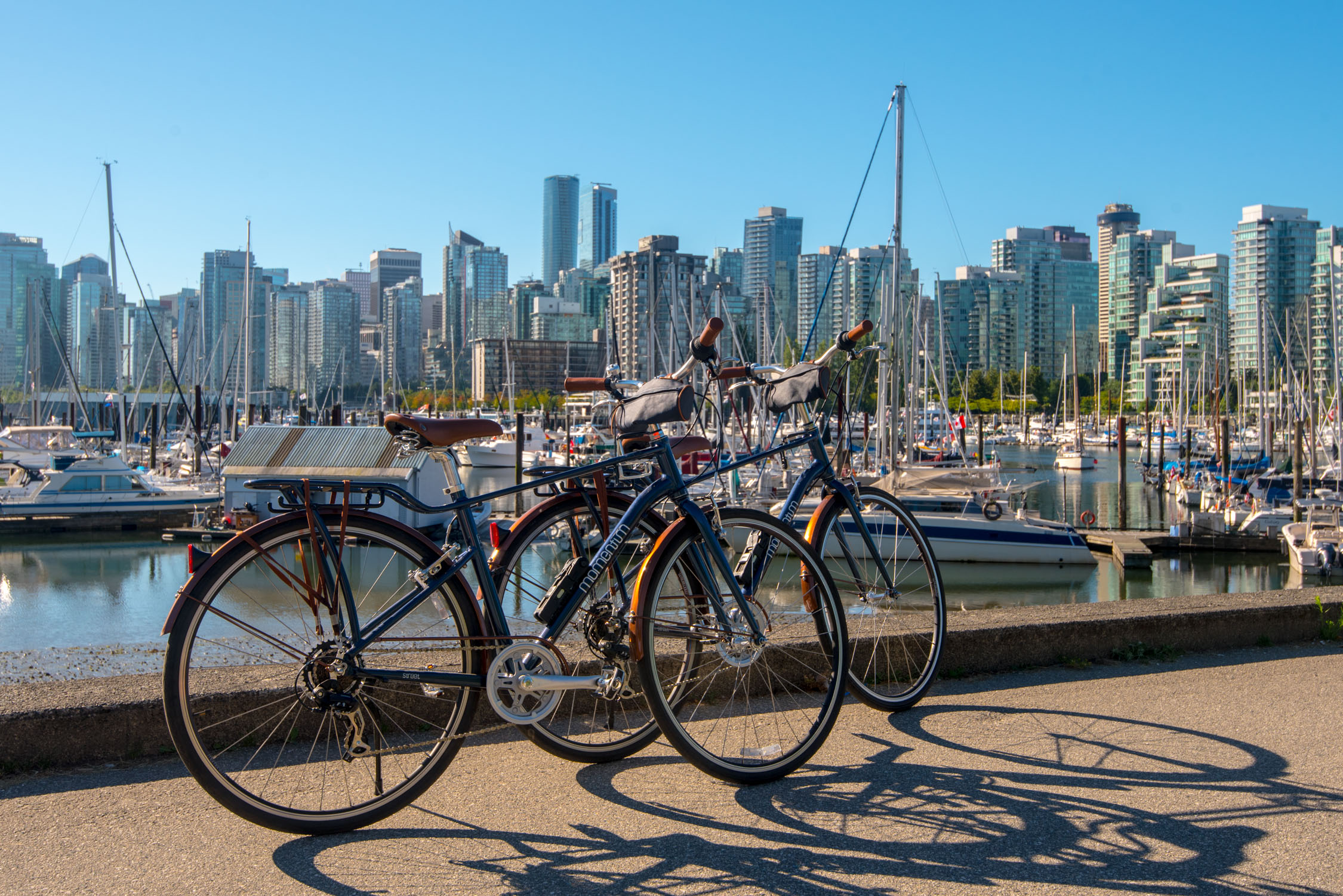 Bike rentals from The Westin Bayshore, Vancouver - perfect for riding around the city