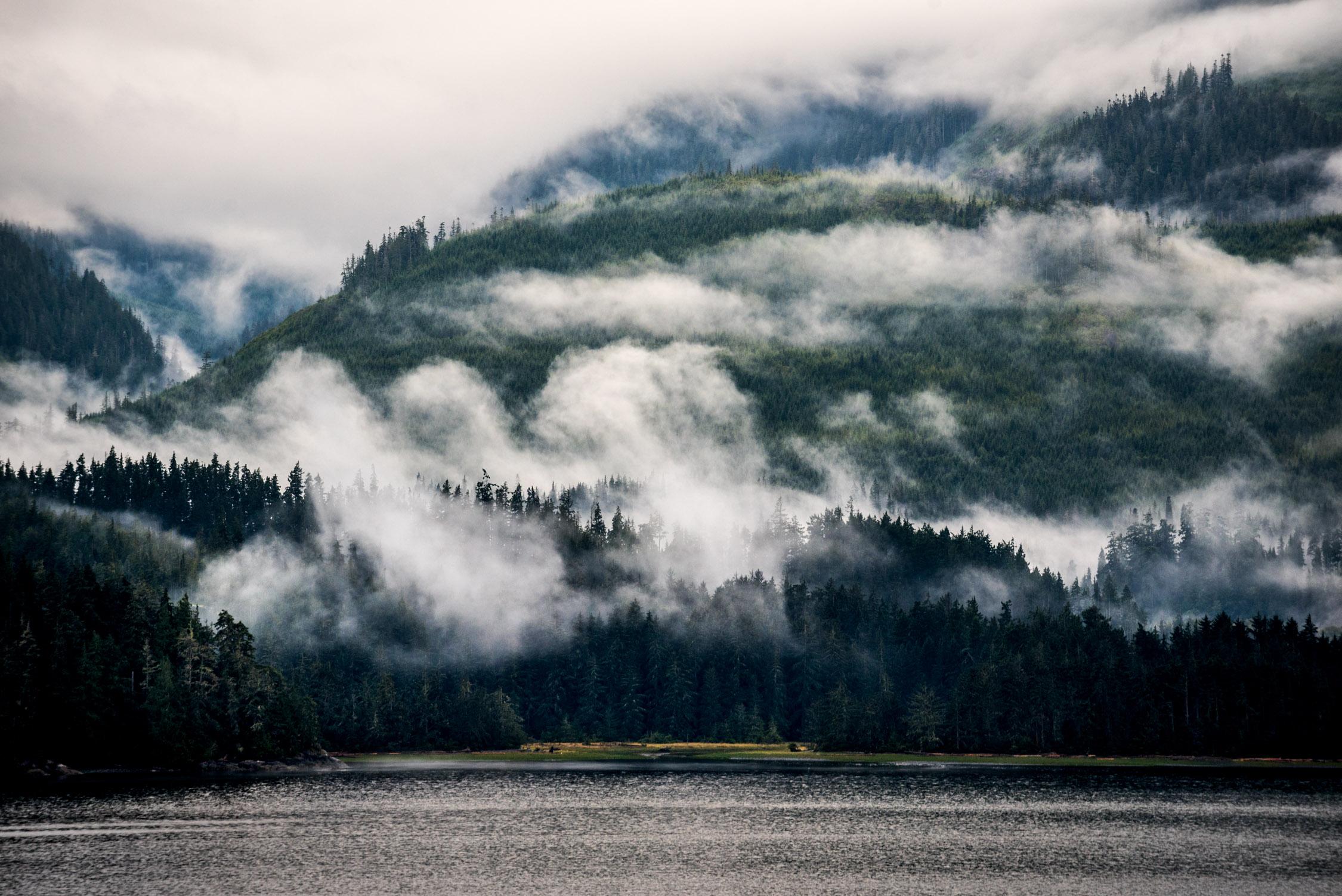 Cruising the inside passage of Alaska