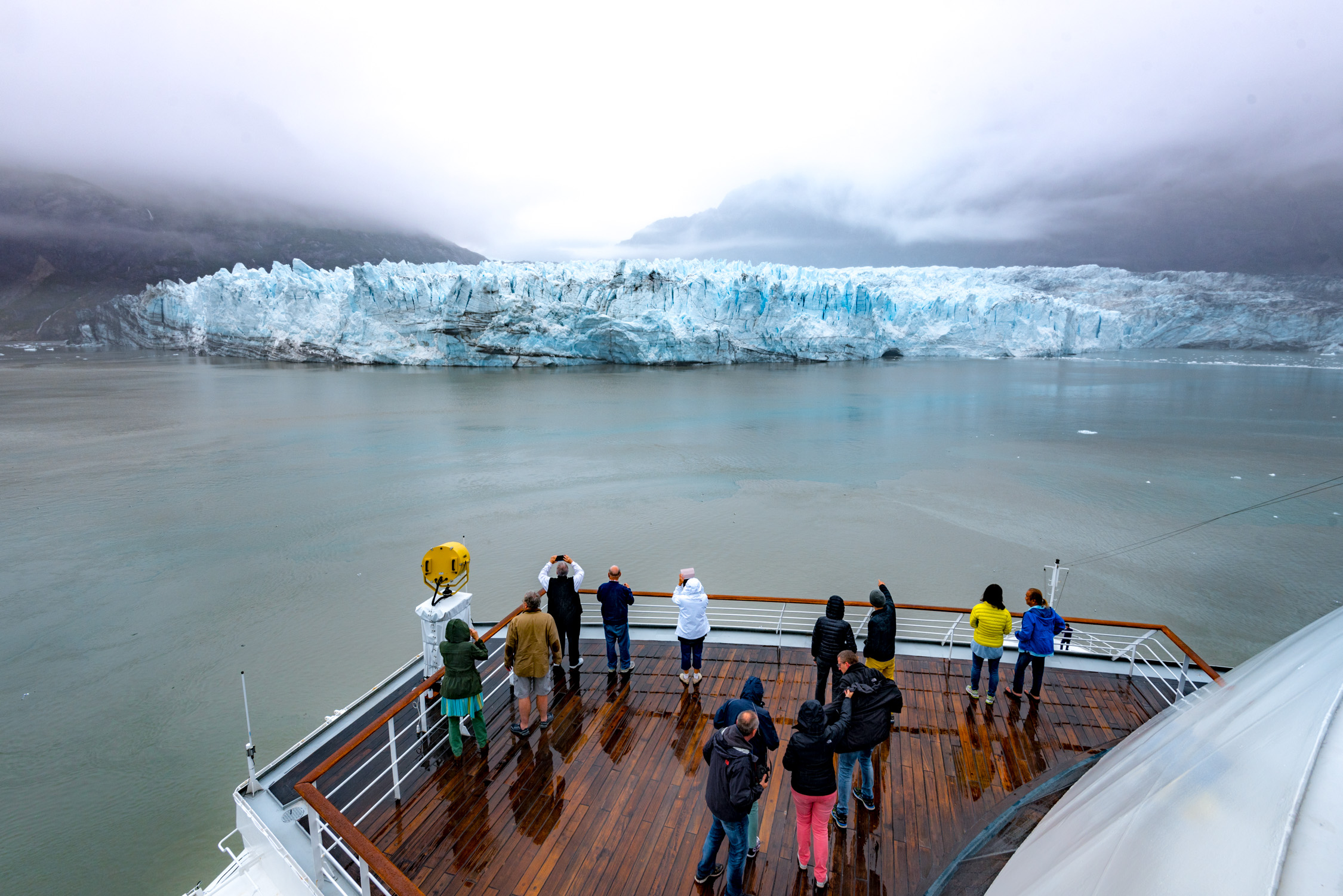 Cruising Glacier Bay, which is only accessible by boat