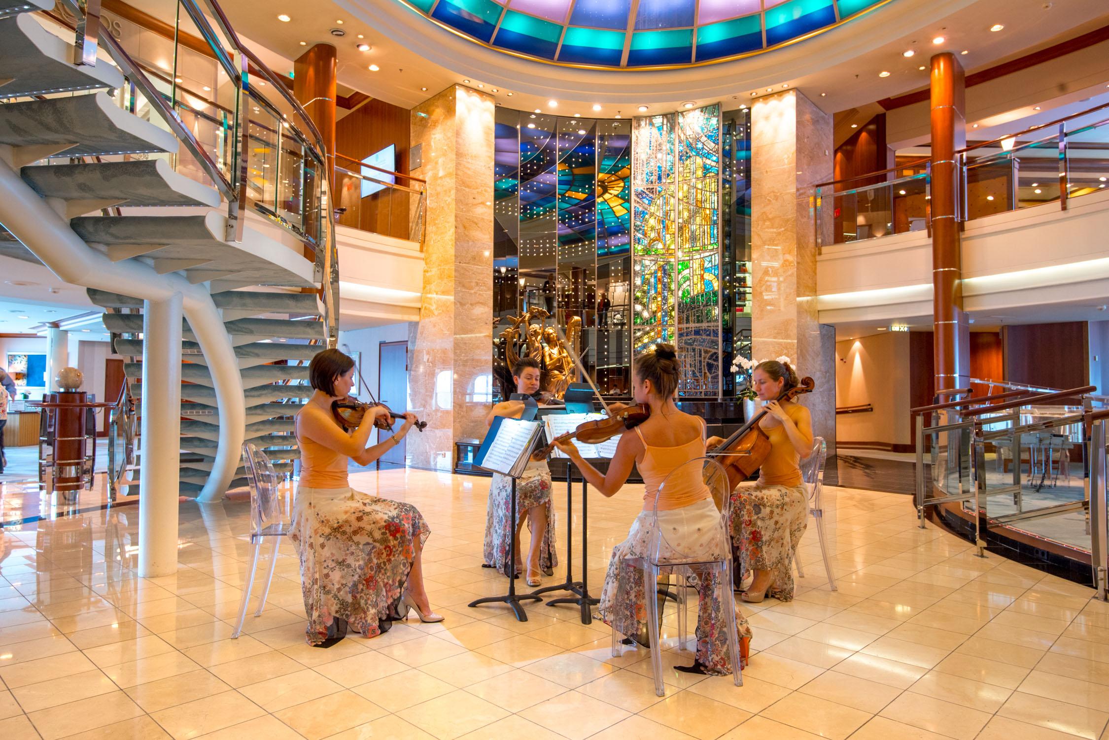 A beautiful ambiance   in Alaska aboard Crystal Cruises