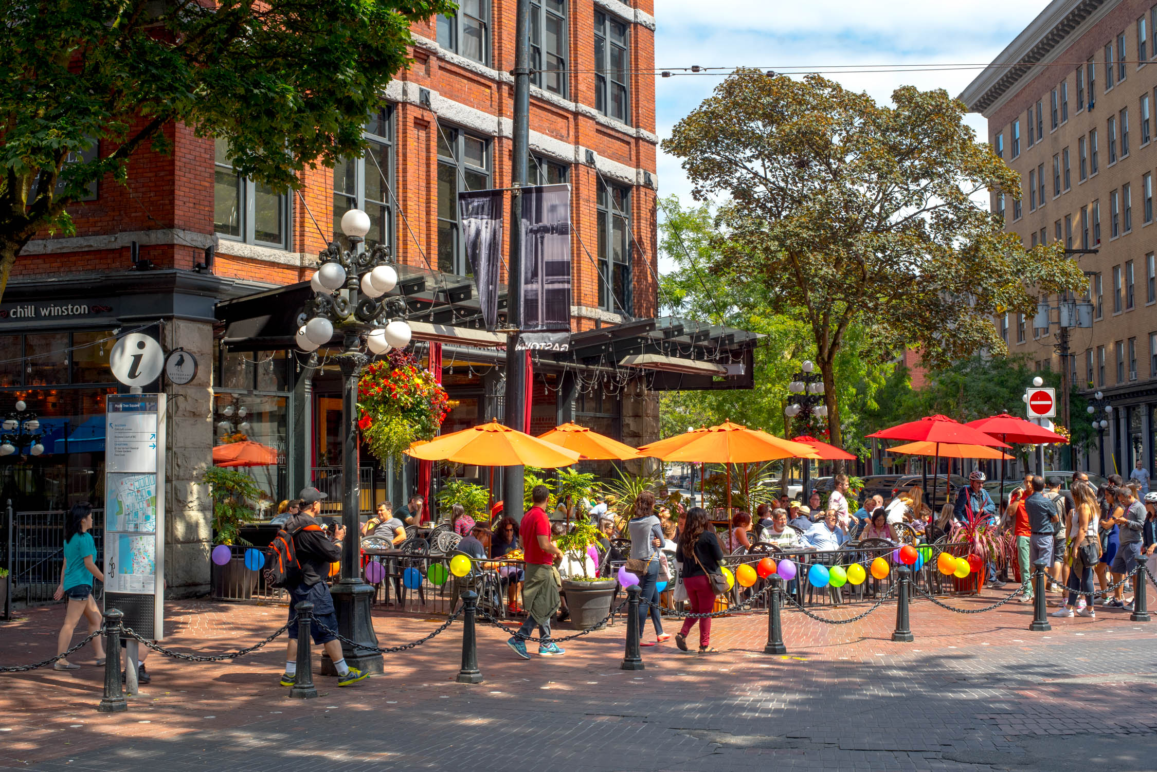 The laid back vibes of Gastown