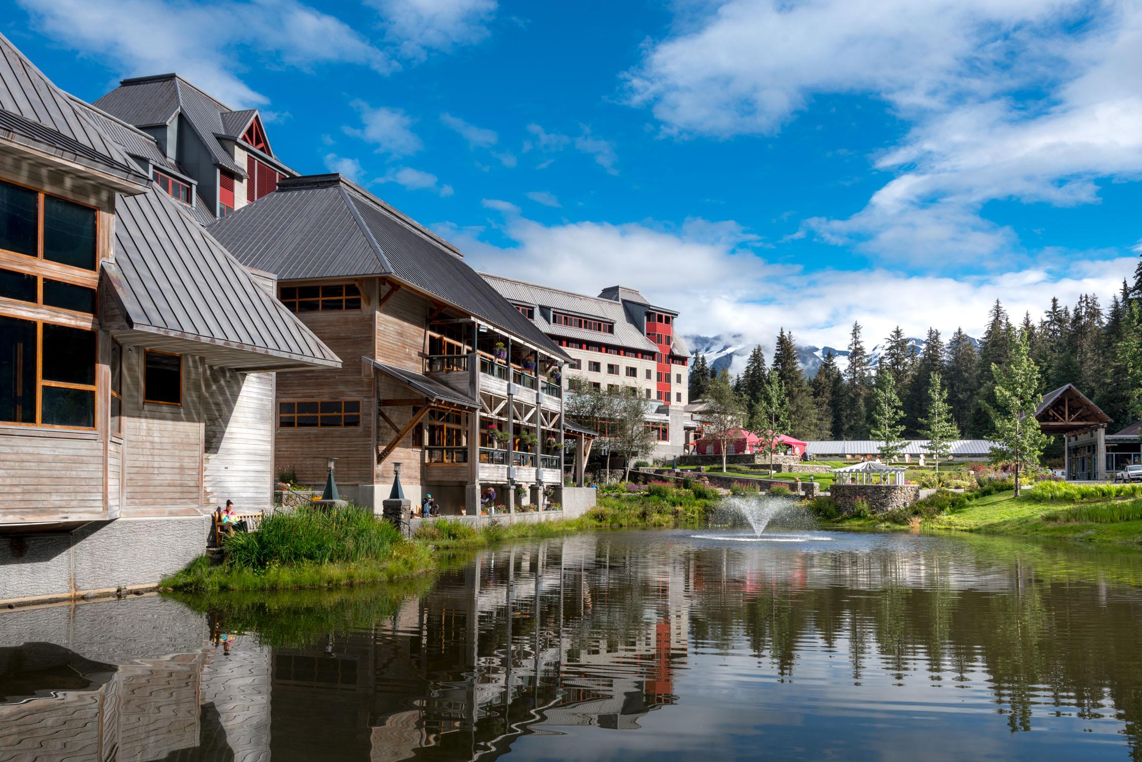 Views of   Alyeska Resort in Alaska