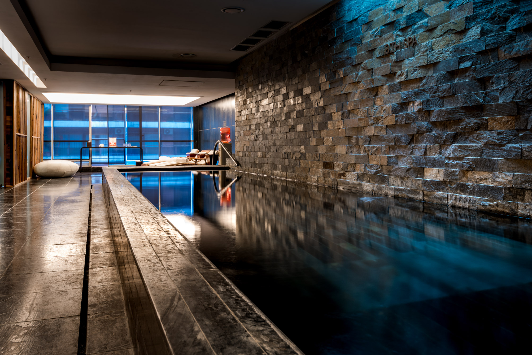 The Spa area at The Mio Hotel in Buenos Aires