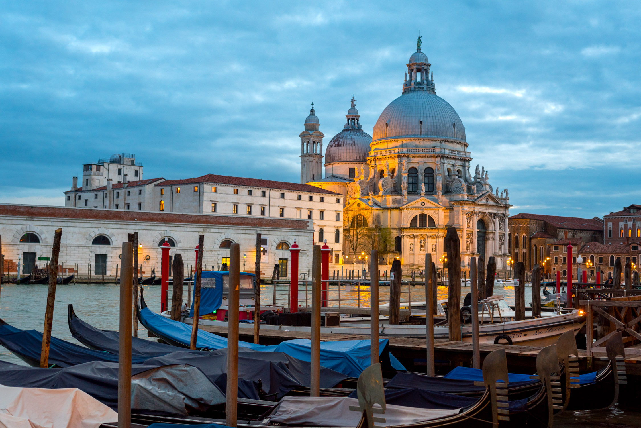The view from Hotel Monaco, in Venice