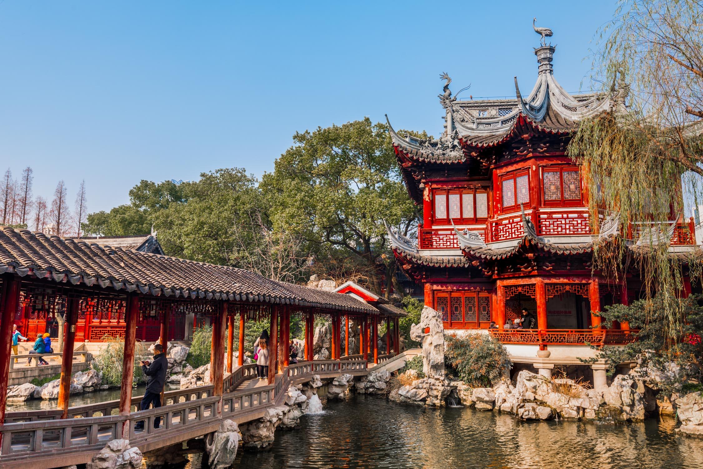 Yu Gardens in Shanghai
