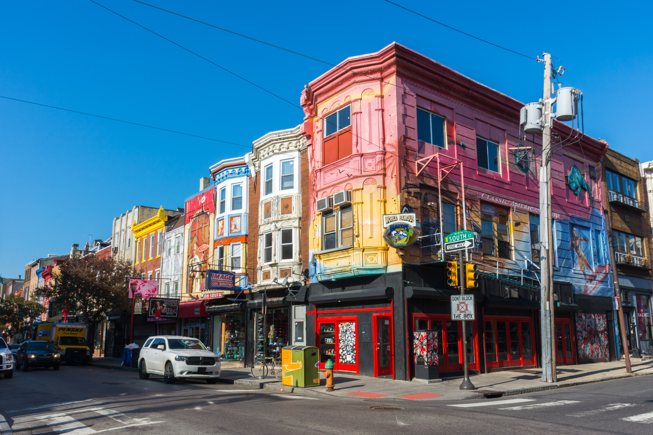 Philadelphia's artistic and avant-garde South Street neighborhood