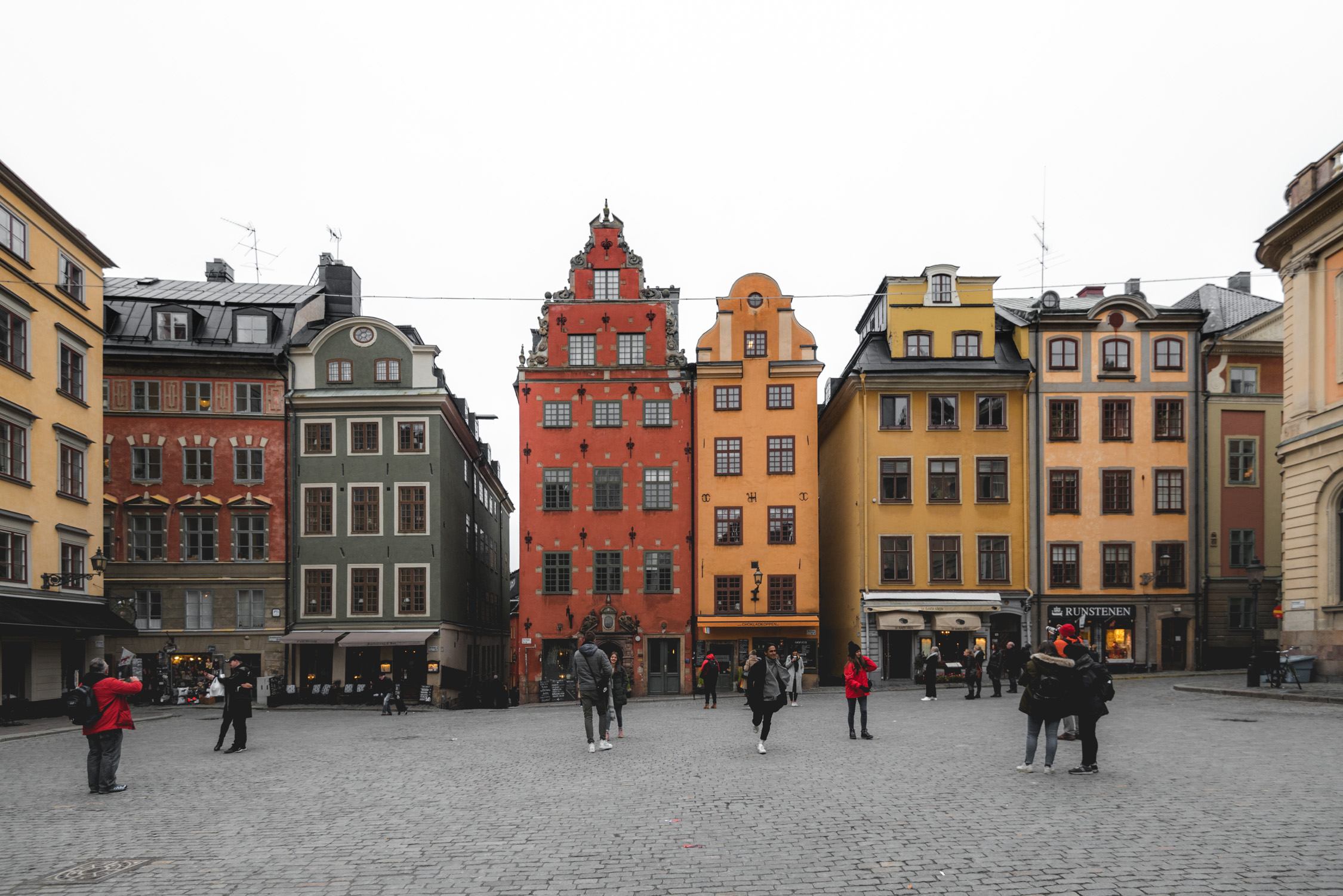 Hotel C is close to public transportation and neighborhoods like Gamla Stan
