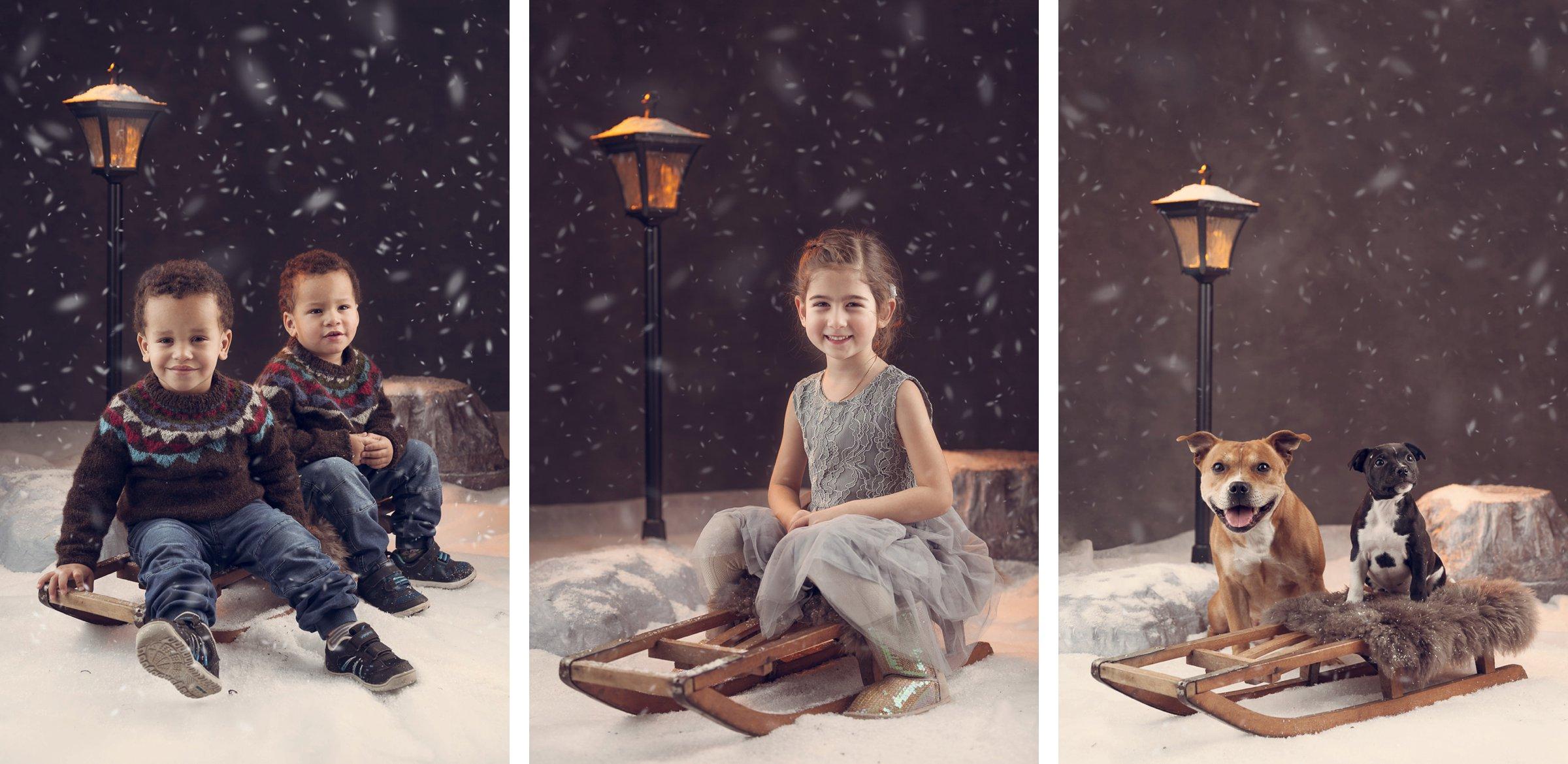 Julekortfotograferinger