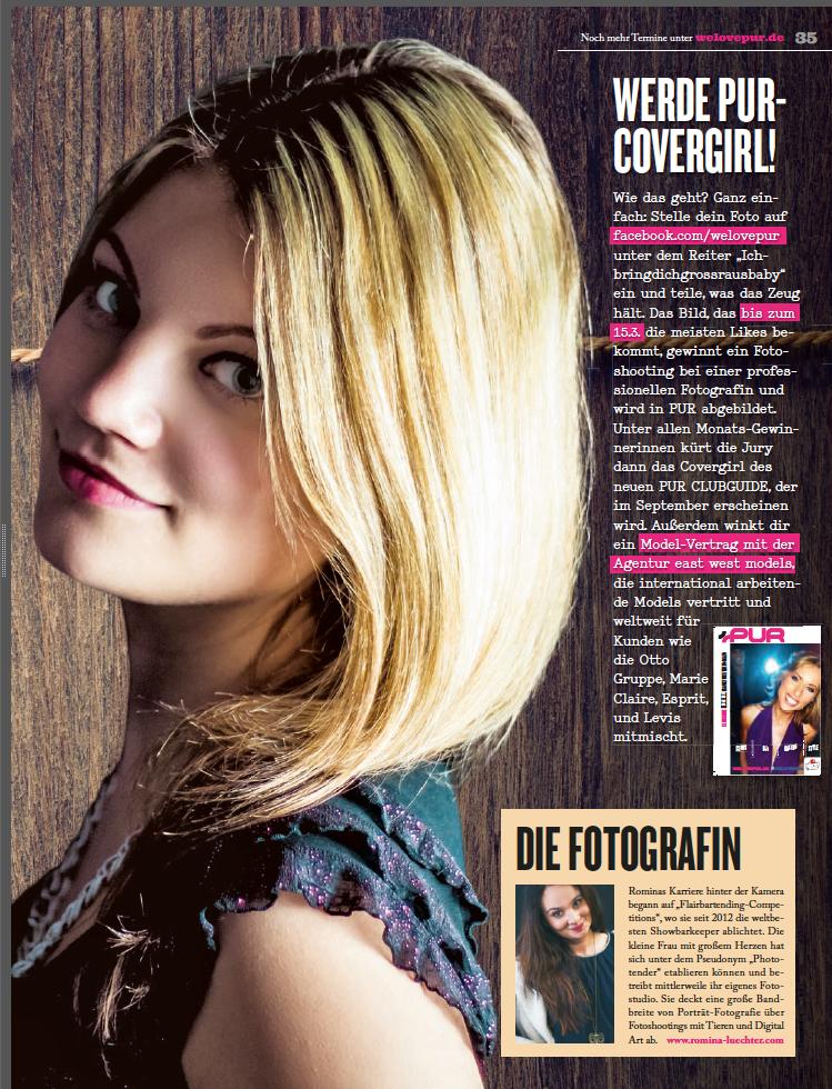 PUR - März 2015 Ausgabe