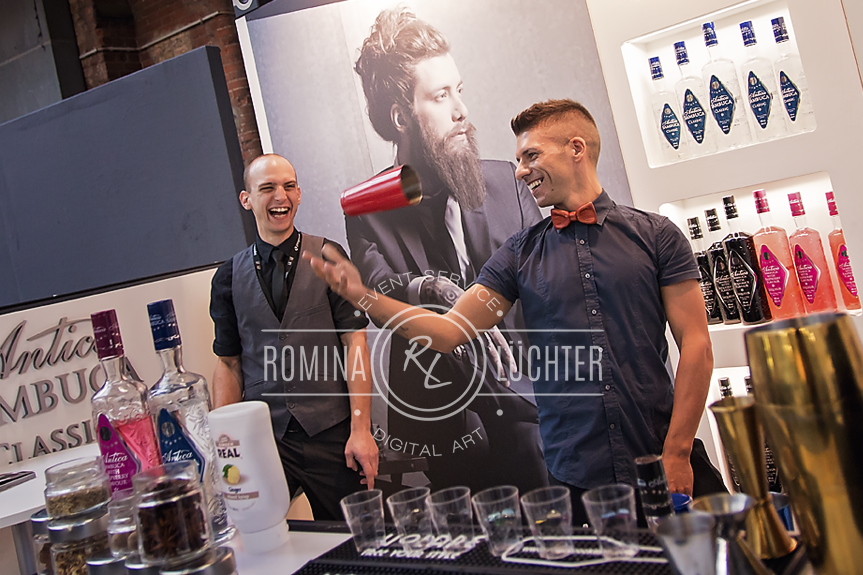 Manuel Wieser & Bruno Vanzan Bar Convent 2015 Antica Sambuca
