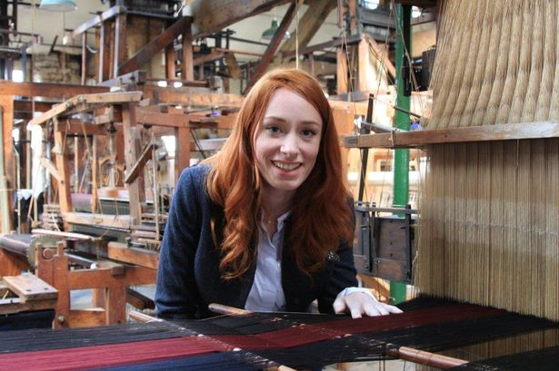 Just chilling with a Jacquard Loom, yo.