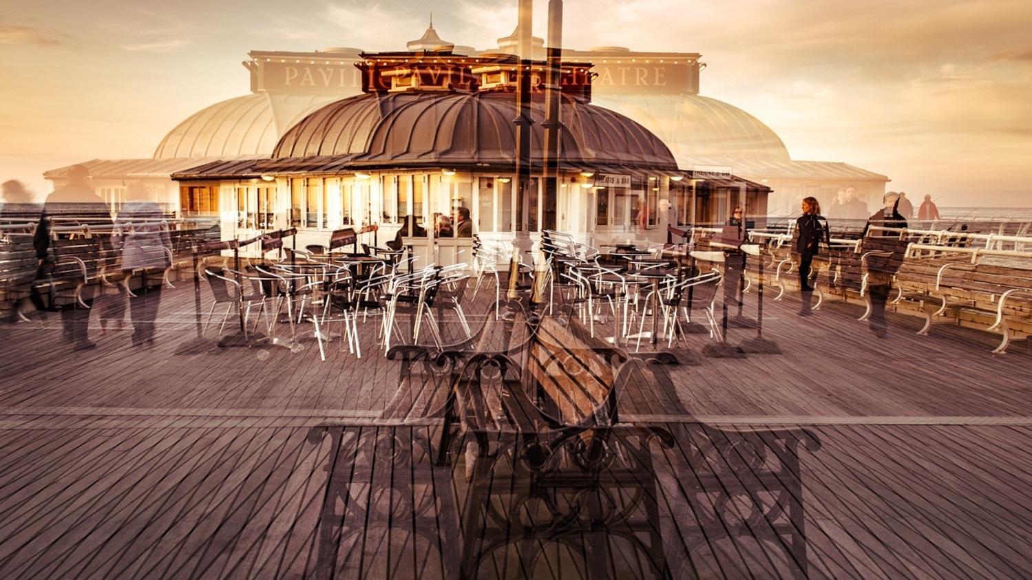 Cromer Pier Photo Impressionism, Norfolk