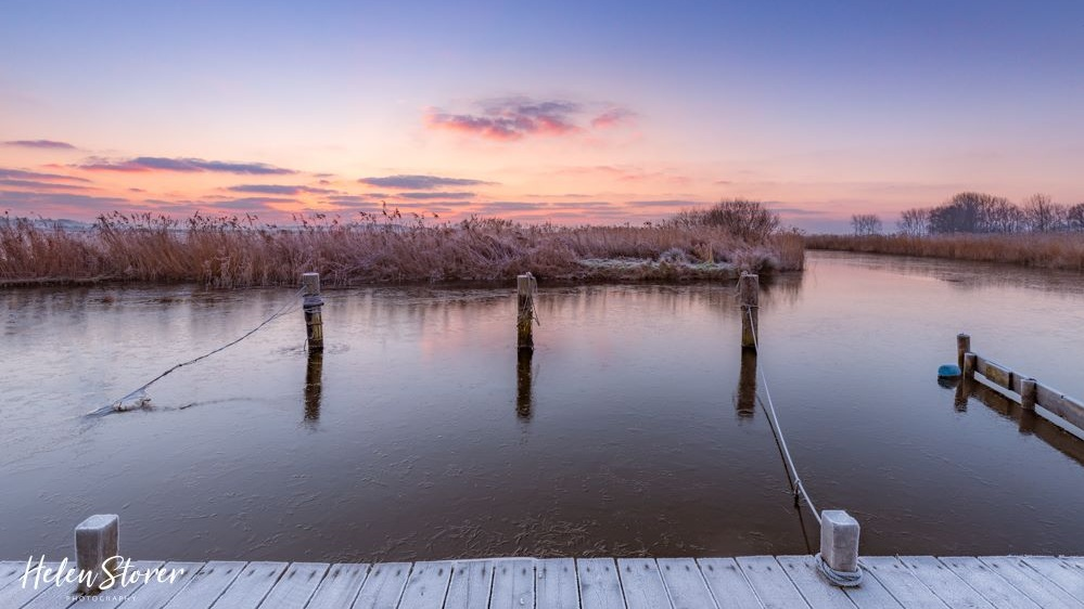 Frosty Start to the day on Water