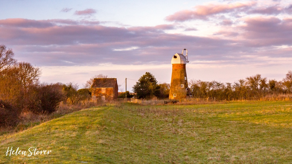 Stubbs Mill on Hickling Broad