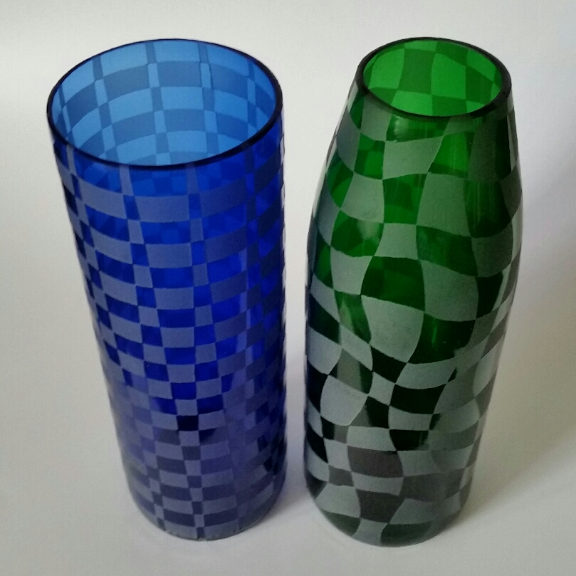 'Blue Boardgame' and 'Emerald WaterLens'