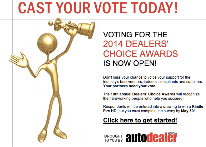 dealers choice award