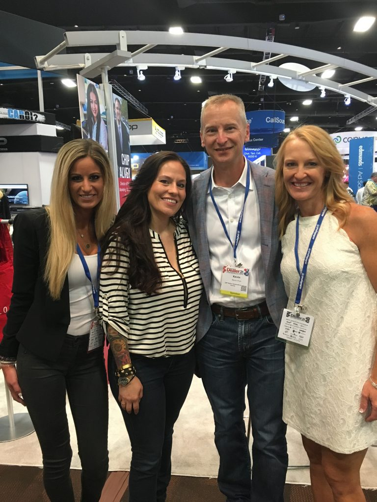 Lindsay Kwaselow  ,   April Rain ,  Kevin Frye  and  Julie Frye at #DD21 Exhibit Hall