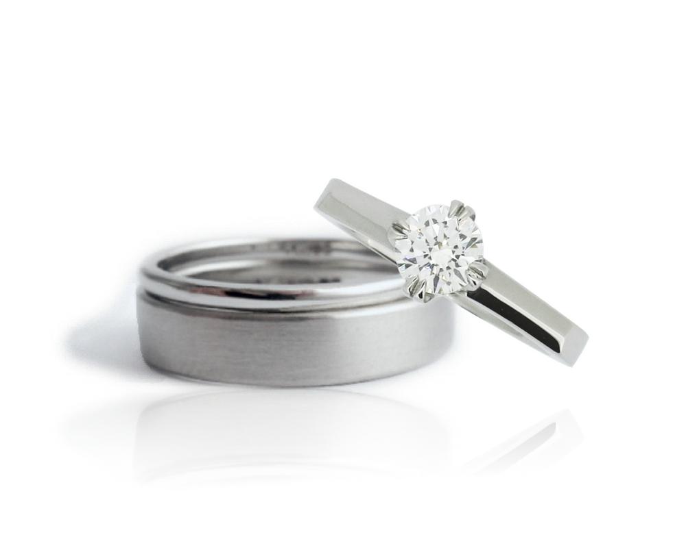 Bespoke Platinum rings