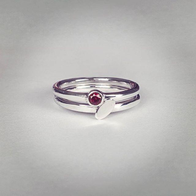 stacking engagement rings